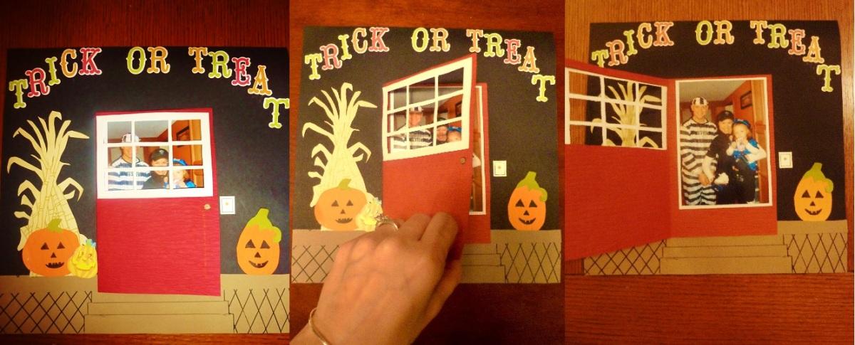 Halloween Scrapbooking