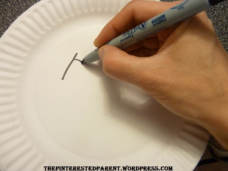Glue a popsicle stick to the back of the plate u0026 cl& & Teaching Toddlers Emotions u2013 The Pinterested Parent