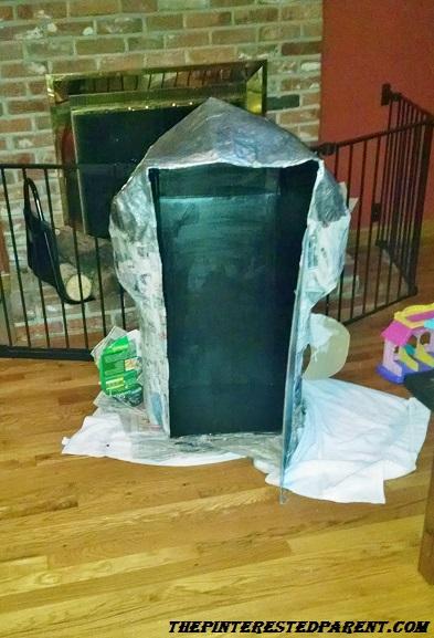 Paper Mache Rocket Ship The Pinterested Parent