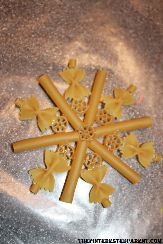 Christmas Pasta Crafts The Pinterested Parent