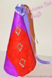 Princess Hat craft for kids
