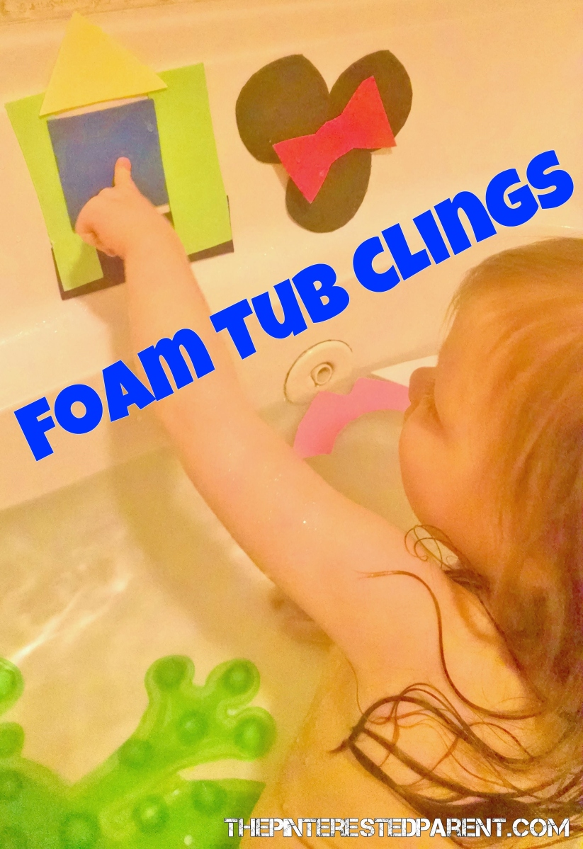 Foam Tub Clings